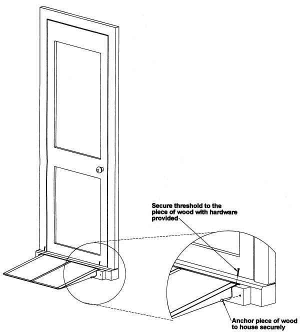 Ada Door Threshold Thresholds At Residential Doors Intu0027l Building And Residential Codes