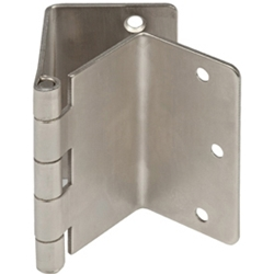 satin nickel expandable door hinge