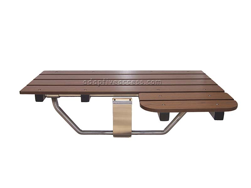 Ada Compliant Teak Shower Bench With Legs At N Ada Compliant Shower Seat 100 Portable Bath